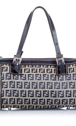 Fendi Zucchino Canvas Handbag