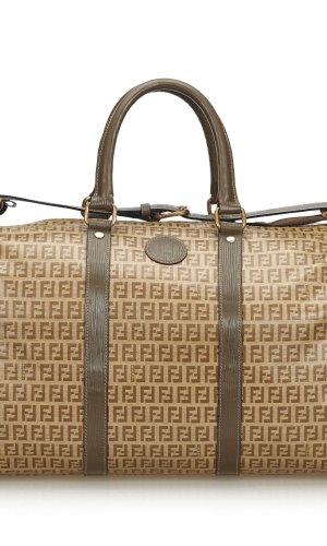 Fendi Bolso de viaje marrón