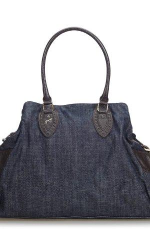 Fendi Zucchino Denim Etniko Shoulder Bag