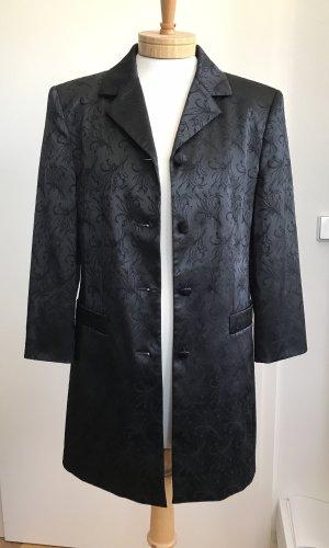 Taifun Lange blazer zwart Polyester