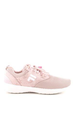 Fila Schnürsneaker pink-weiß schlichter Stil