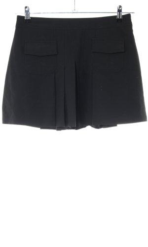 Fishbone Jupe à plis noir style d'affaires