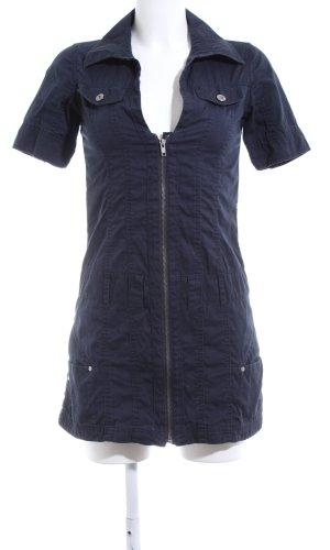 Fishbone Robe chemise bleu élégant