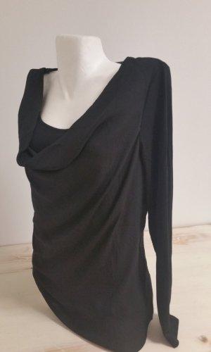 Flame Waterval shirt zwart