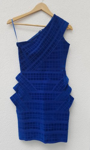 Forever Unique Bodycon Dress Blau
