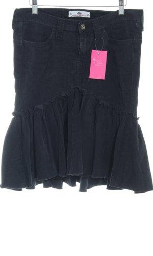 Fornarina Jupes-culottes noir style décontracté