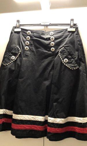 Fornarina Volanten rok zwart