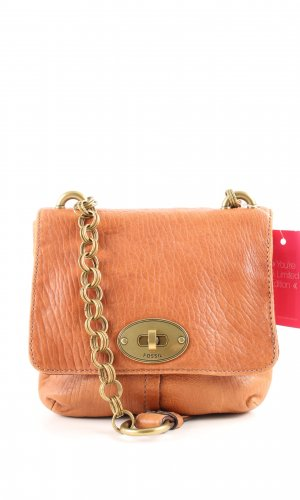 Fossil Schultertasche hellorange Casual-Look