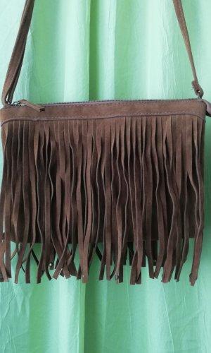 Fringed Bag brown