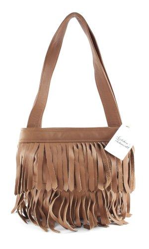 Fringed Bag brown Boho look