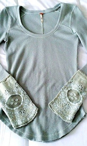 Free People Thermal Shirt Pullover