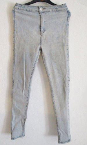 Pantalón elástico azul celeste