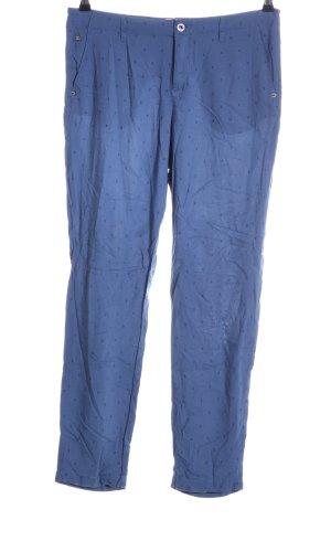 Gaastra Chinohose blau Allover-Druck Casual-Look