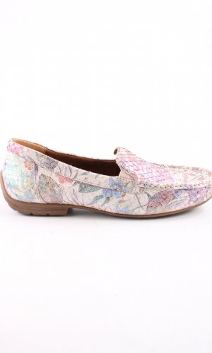 Gabor Comfort Moccasins flower pattern casual look