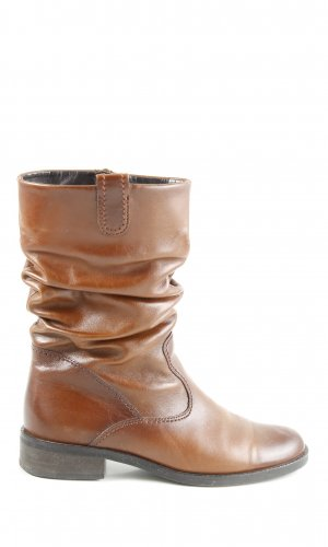 Gabor Comfort Slouch Stiefel braun Casual-Look