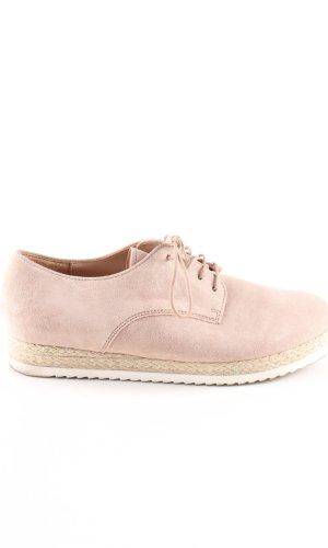 Gabor Zapatos brogue rosa look casual