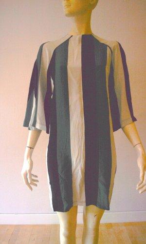 Ganni Designer Seide Kleid Tunika Seide100%