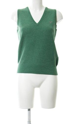 Gant Feinstrickpullunder grün Casual-Look