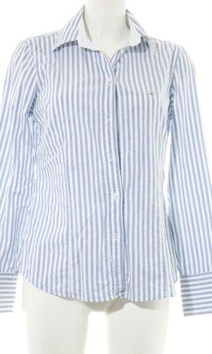 Gant Langarmhemd weiß-blau Streifenmuster Business-Look