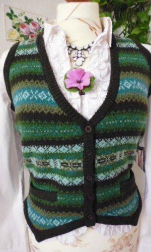 Gant Cárdigan de estilo noruego multicolor lana de esquila