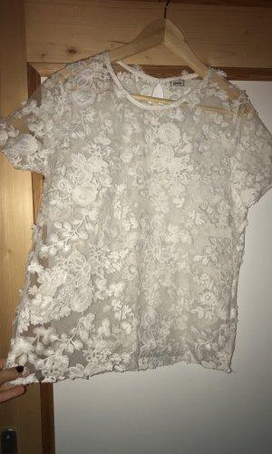 Pimkie Gehaakt shirt wit