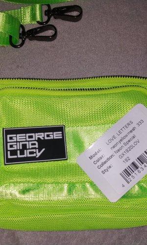 George Gina & Lucy Riñonera verde neón