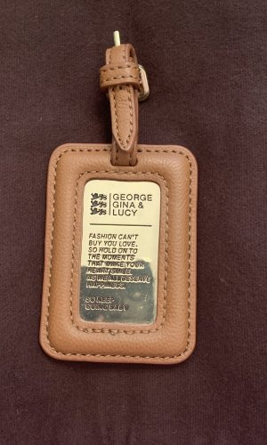 George Gina & Lucy Key Chain brown