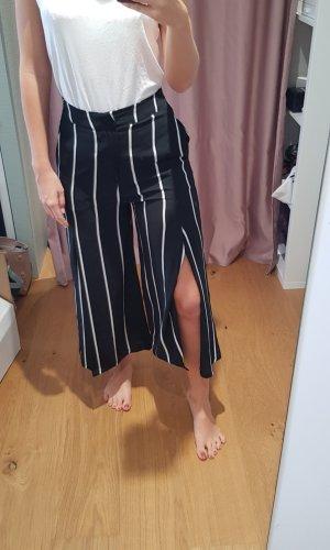 Mango Jupes-culottes blanc-noir