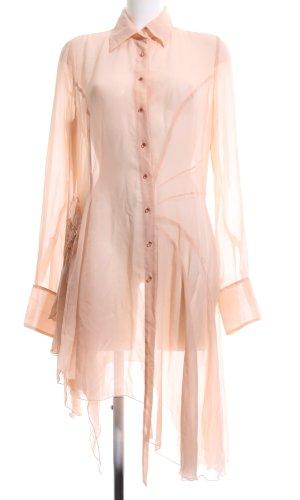 GF Ferré Robe chemise rose chair style d'affaires