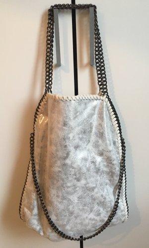 Comprador gris claro-color plata