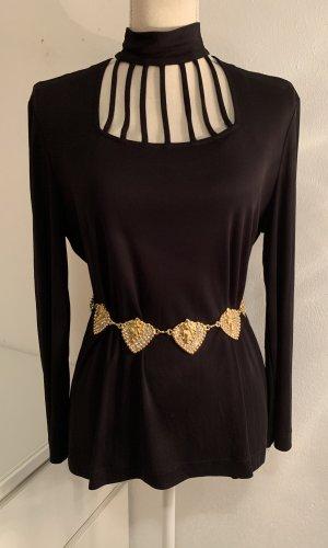 Cinturón de cadena color oro-color plata
