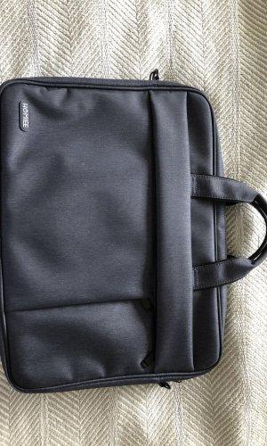 Laptoptas donkerblauw-leigrijs