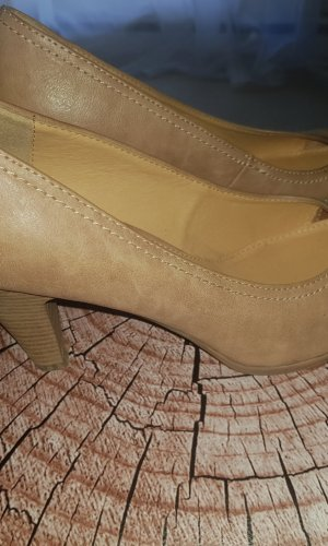 Graceland Escarpins Mary Jane beige