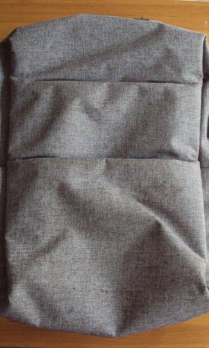 Sac à dos pour ordinateur portable gris polyester