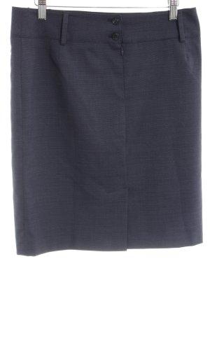 Greiff Wollen rok blauw zakelijke stijl