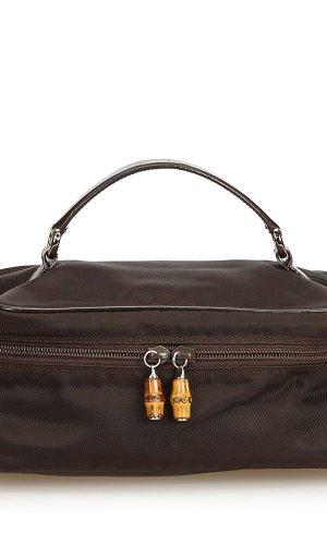 Gucci Cosmeticabox donkerbruin Nylon