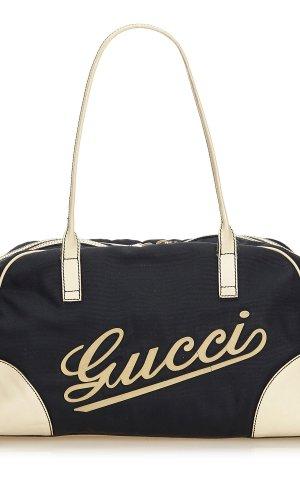 Gucci Canvas Parana Boulevard Boston Bag