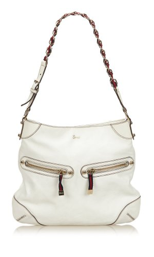 Gucci Capri Ranch Kid Leather Shoulder Bag