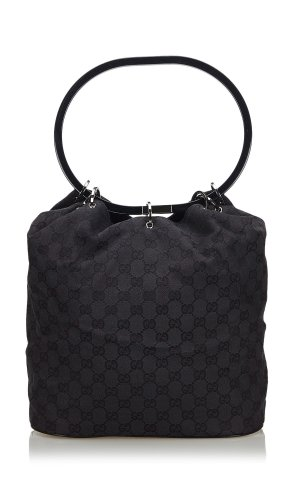 Gucci GG Canvas Ring Handle Shoulder Bag