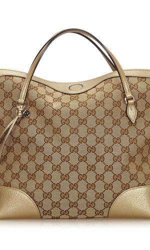Gucci Guccissima Bree Handbag