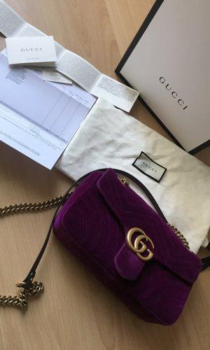 Gucci Marmont GG Velvet Medium