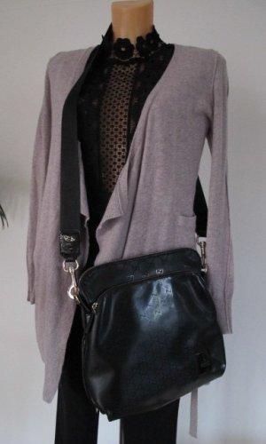 Gucci Gekruiste tas zwart-zilver