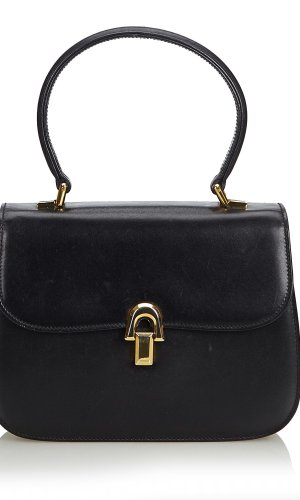 Gucci Vintage Leather Handbag