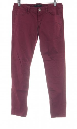 Guess Stoffhose karminrot Casual-Look