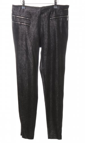 Guess Stretchhose schwarz meliert Casual-Look