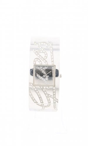 Guess Watch With Metal Strap silver-colored casual look