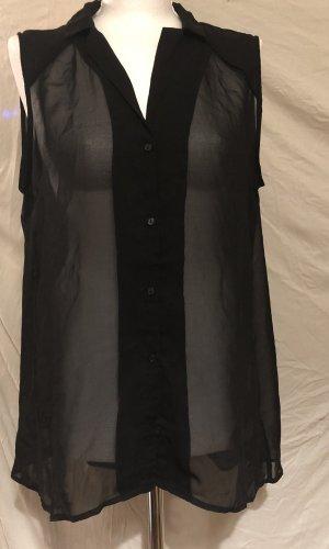 H&M Tuniek zwart Polyester