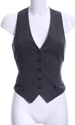 H&M Herenvest zwart geruite print zakelijke stijl