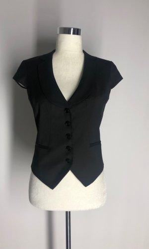 H&M Herenvest zwart Polyester