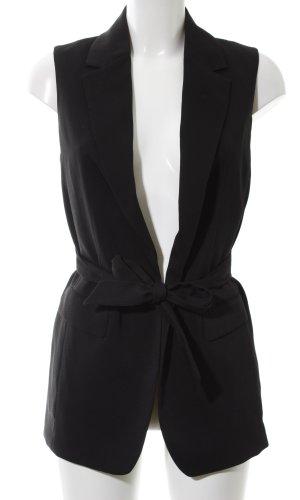 H&M Herenvest zwart zakelijke stijl